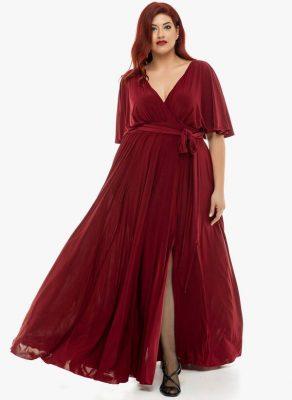 φορέματα σε μεγάλα μεγέθη που κολακεύουν
