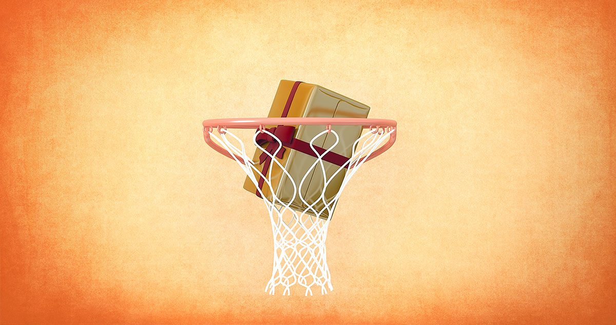 Δώρα για μπάσκετ